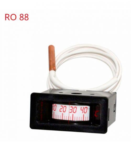 Термометр панельный ROF 88 Black ARTHERMO