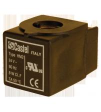 Катушка к соленоидному вентилю CASTEL 9100/RA2 HM2 24V
